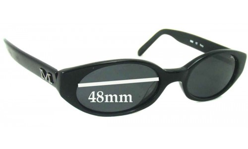 Mako Roxy 9362 Replacement Sunglass Lenses - 48mm Wide