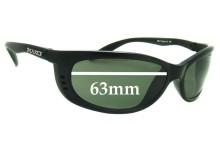 Mako Sleek XL 9517 Replacement Sunglass Lenses - 63mm Wide