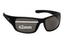 Mambo Adult Replacement Sunglass Lenses 1005110 - 62mm Wide