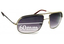 MARC BY MARC JACOBS MJ 015S Replacement Sunglass Lenses - 60mm Wide
