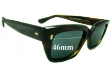 MARTIN WELLS 727 Replacement Sunglass Lenses - 46mm wide