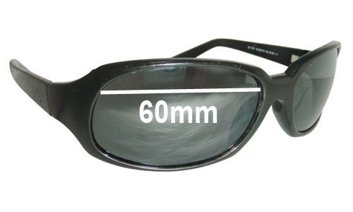 Maui Jim MJ110 Navigator Replacement Sunglass Lenses - 60mm Wide