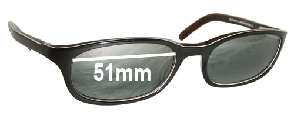 Maui Jim MJ138 Replacement Sunglass Lenses - 51mm Wide