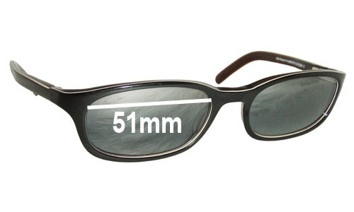 Maui Jim MJ138 Replacement Sunglass Lenses - 51mm Wide