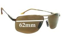 Maui Jim MJ207 Kapena Replacement Sunglass Lenses - 62mm Wide