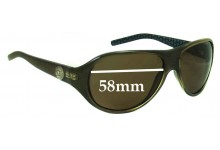 Michael Kors M2609S Replacement Sunglass Lenses - 58mm lens width