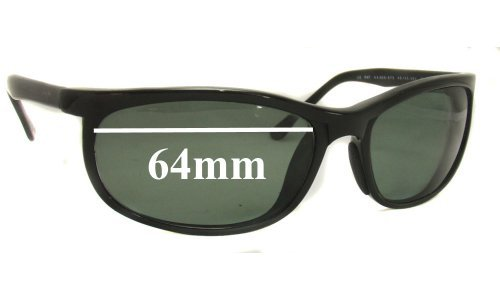 Maui Jim MJ-120 Typhoon Replacement Sunglass Lenses - 64mm Wide