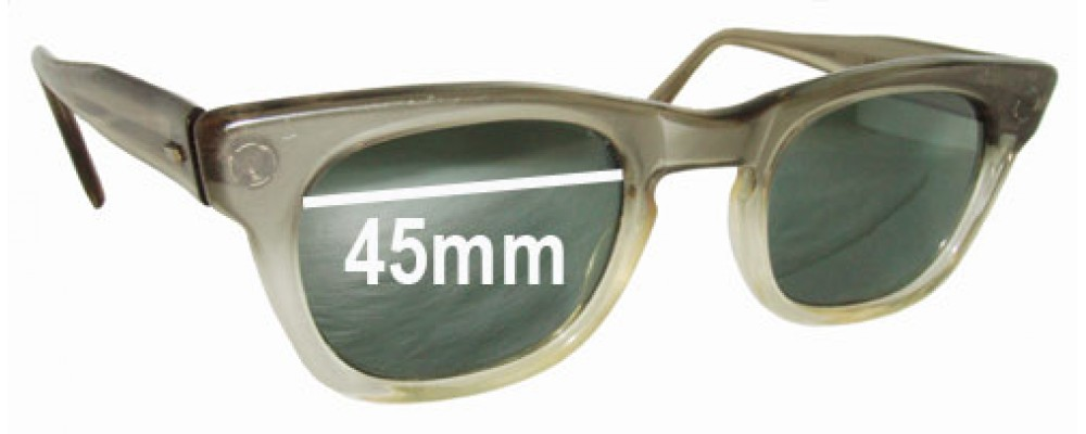 Michael Kent Saxon Replacement Sunglass Lenses - 45mm wide