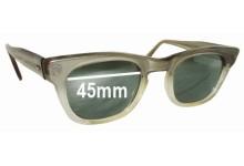 Michael Kent Saxon Replacement Sunglass Lenses - 45mm wide