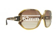 MARC BY MARC JACOBS MMJ 073/N/S Replacement Sunglass Lenses - 62mm Wide