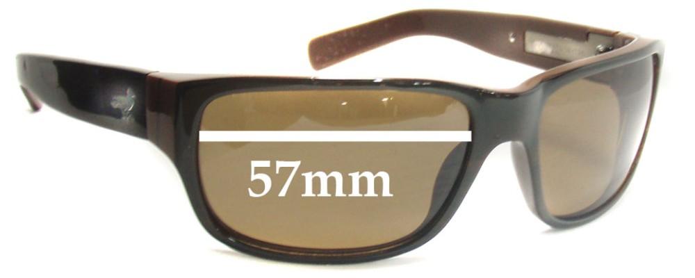 Modern Amusement 8's Replacement Sunglass Lenses - 57MM wide