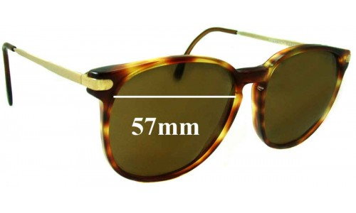 Monsieur 7112 Replacement Sunglass Lenses 57mm wide