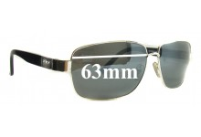 Morrissey Airfield Replacement Sunglass Lenses - 63mm Wide
