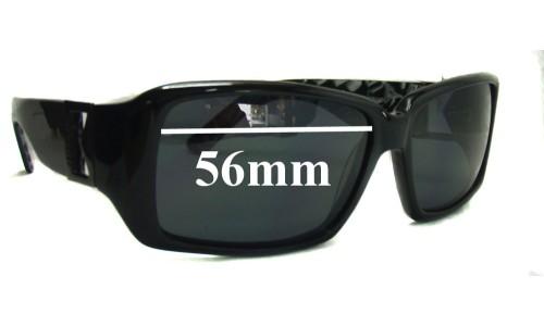 Morrissey Uptown New Sunglass Lenses - 56mm wide