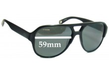 Sunglass Fix New Replacement Lenses for Mosley Tribes Cosley MT6029S - 59mm Wide