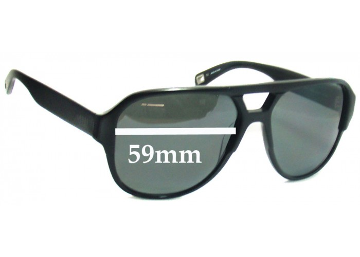 SFX Replacement Sunglass Lenses fits Mosley Tribes Dunn 65mm Wide