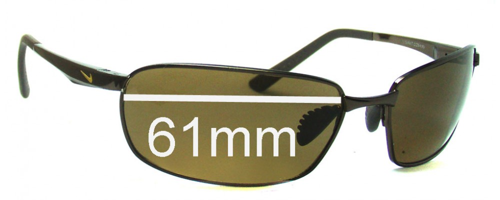 1c92dd52bdc4 Nike Avid EV0569 or EV0570 Replacement Lenses 61mm by The Sunglass Fix™