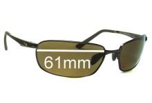 Nike Avid EV0569 or EV0570 Replacement Sunglass Lenses - 61mm Wide