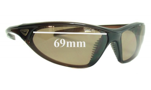 Nike EVO184 Cadence Replacement Sunglass Lenses - 69MM wide