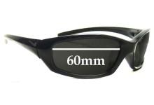 Nike GDO SQUARE EVO128 Replacement Sunglass Lenses  - 60MM wide