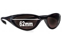 Nike Interchange Round Replacement Sunglass Lenses - 62 mm wide