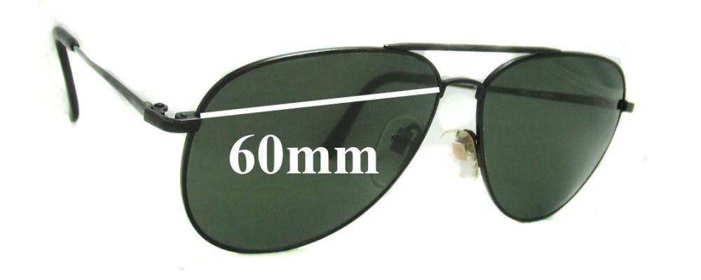 Nikon VT5800-5 Replacement Sunglass Lenses - 60mm wide