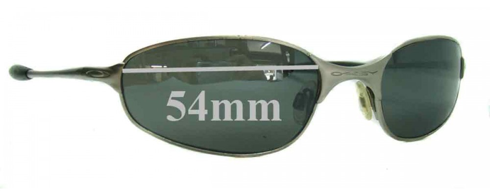 c3167538e9ad Sunglass Fix Replacement Lenses for Oakley A-Wire 2.0 Spring Hinge - 54mm  Wide -