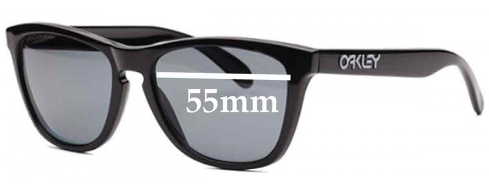 Oakley Frogskins Collectors Replacement Sunglass Lenses - 55mm Wide