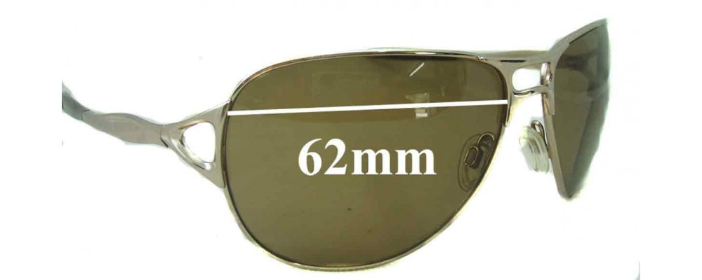 Oakley Hinder Replacement Sunglass Lenses - 62mm wide