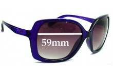 Oakley Beckon Replacement Sunglass Lenses - 59mm wide