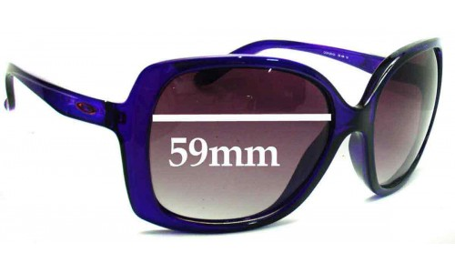 Sunglass Fix Replacement Lenses for Oakley Beckon - 59mm wide