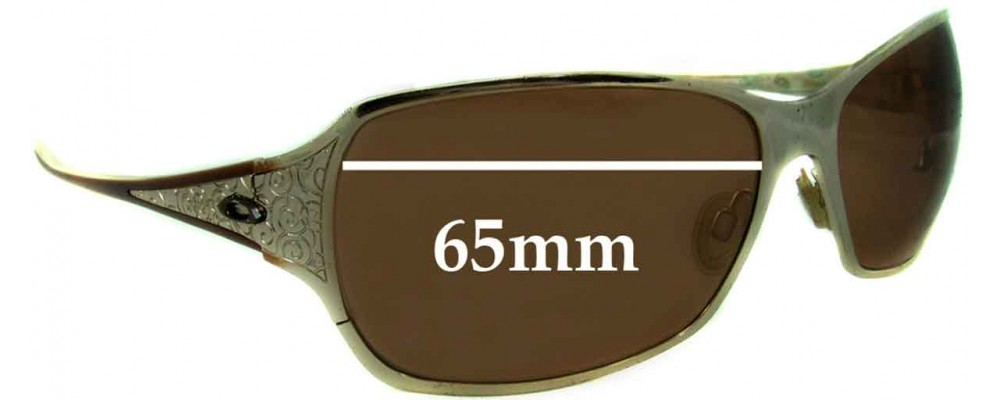 Replacement Fix™ Behave The Oakley By Lenses 65mm Sunglass OXkPiZuT