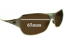 Oakley Behave Replacement Sunglass Lenses - 65mm wide