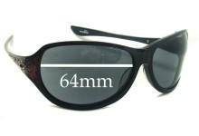 Oakley Belong Replacement Sunglass Lenses - 64mm wide
