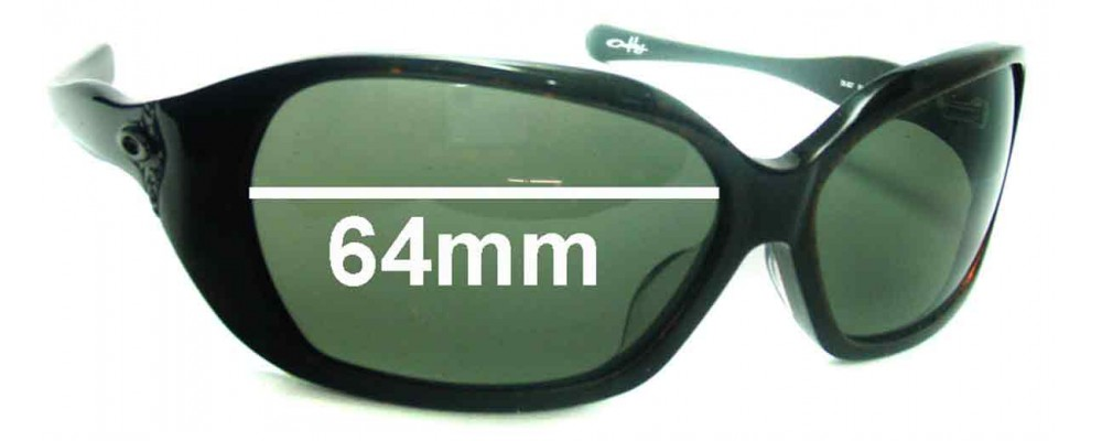 Oakley Betray Replacement Sunglass Lenses - 64mm wide