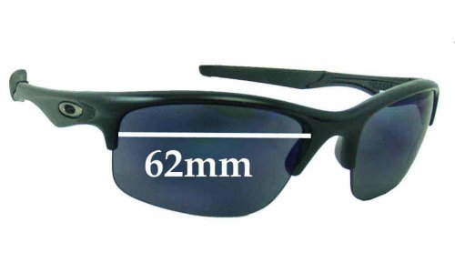 Oakley Bottle Rocket Replacement Sunglass Lenses - 62mm wide