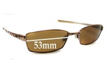 Oakley Corkscrew 4.0 Replacement Sunglass Lenses - 53mm wide