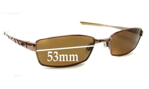Oakley Corkscrew 4.0 New Sunglass Lenses - 53mm wide