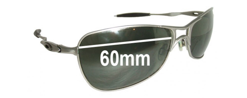 Oakley Crosshair 1.0 Replacement Sunglass Lenses - 60mm wide