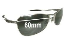 Oakley Crosshair 1.0 Replacement Sunglass Lenses - 60mm wide
