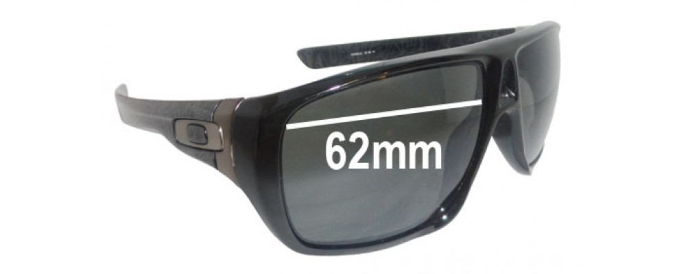 Oakley Dispatch Replacement Sunglass Lenses - 62mm wide