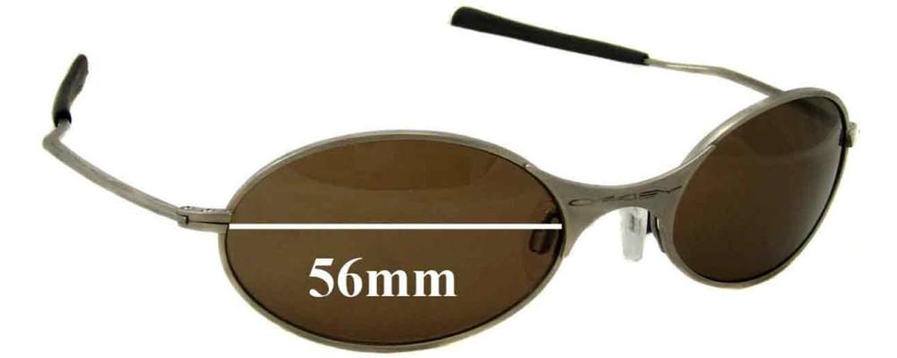Oakley E Wire Generation 1 Replacement Lenses - 56mm wide | Sunglass Fix