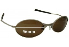Oakley E Wire Generation 1 Replacement Sunglass Lenses - 56mm wide
