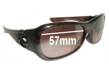 Oakley Flaunt Replacement Sunglass Lenses - 57mm wide