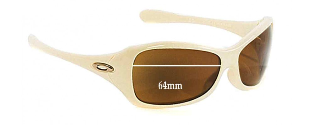 Oakley Grapevine Replacement Sunglass Lenses - 64mm wide