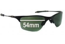 Oakley Half Wire 1.0 Replacement Sunglass Lenses - 54mm Wide