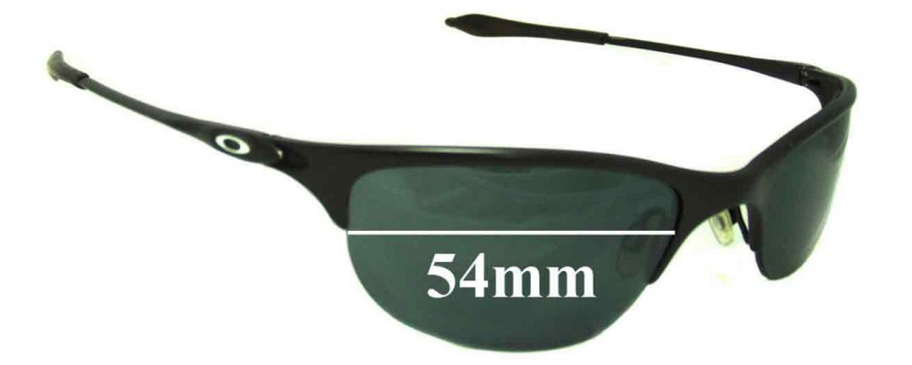 4a9cd720c0 Oakley Half Wire Replacement Sunglass Lenses - 54mm Wide