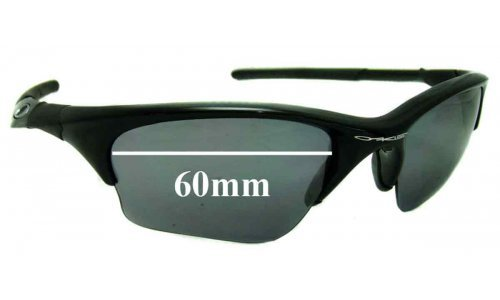 Sunglass Fix Replacement Lenses for Oakley Half Jacket XLJ 60mm wide