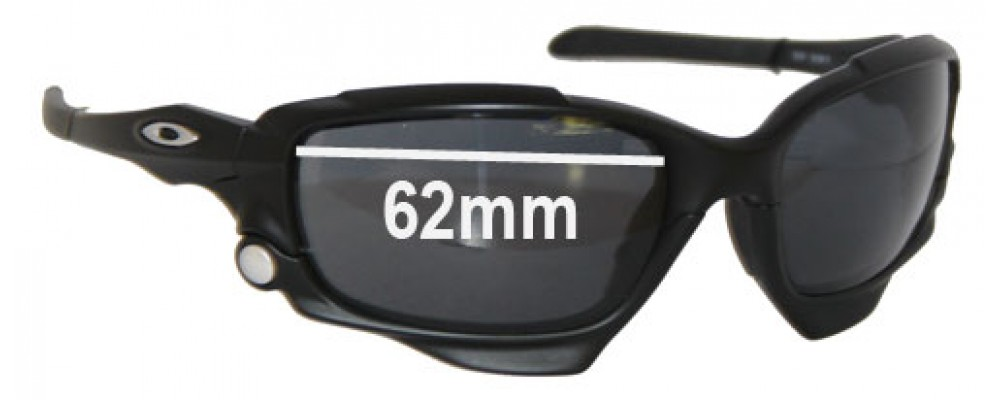 Oakley Jawbone Replacement Sunglass Lenses - 62mm Wide