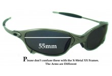Sunglass Fix Replacement Lenses for Oakley X Metal Juliet - 55mm wide